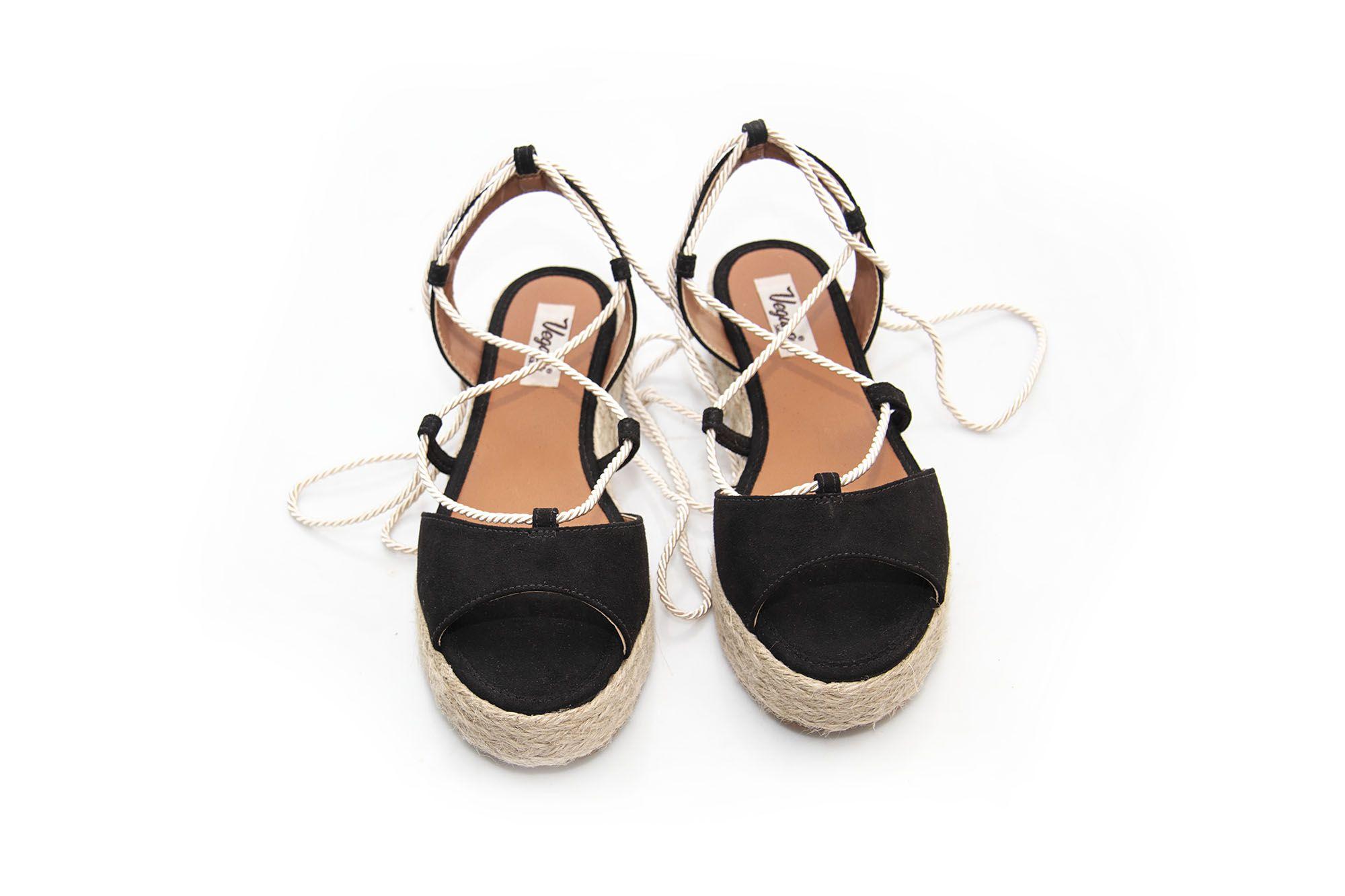Sandália Vegano Shoes Lumina Preta