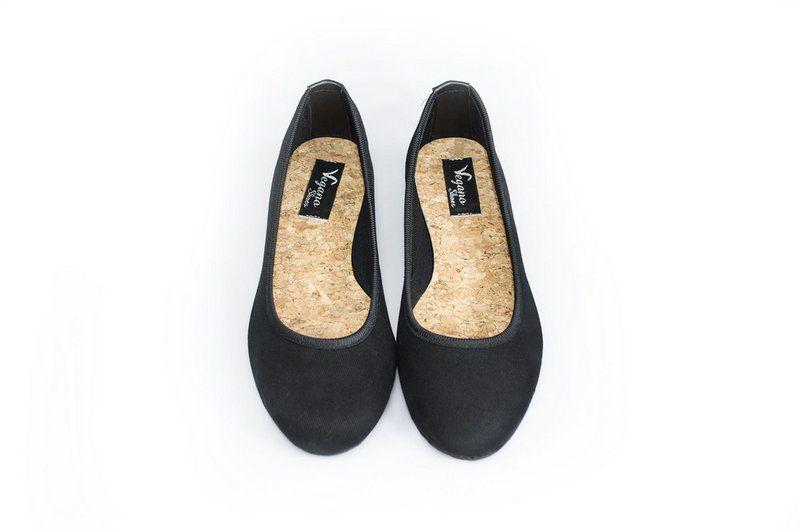 Sapatilha Vegano Shoes Alamanda Preta