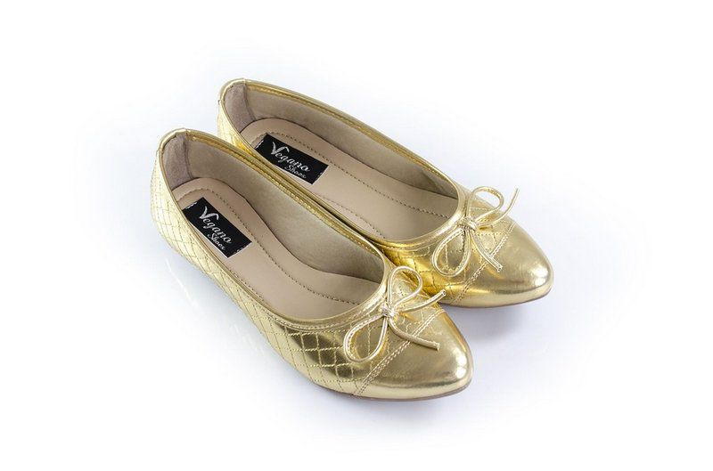 Sapatilha Vegano Shoes Kerria Gold