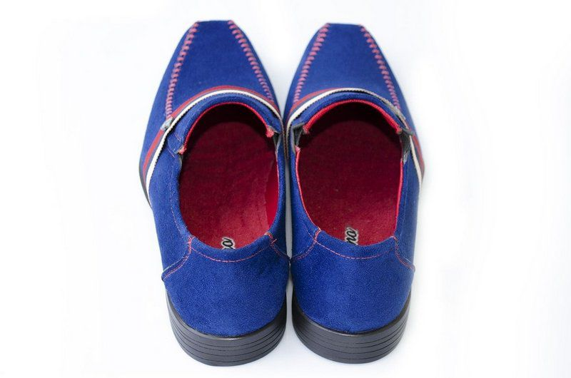 Sapato Vegano Shoes Ciclane Azul royal