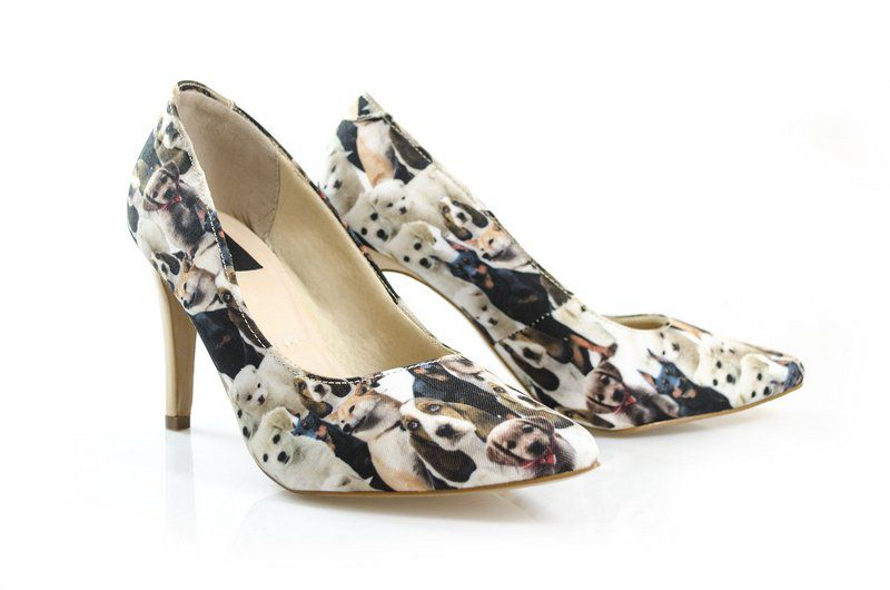 Sapato Vegano Shoes Scarpin  Spirea Dog