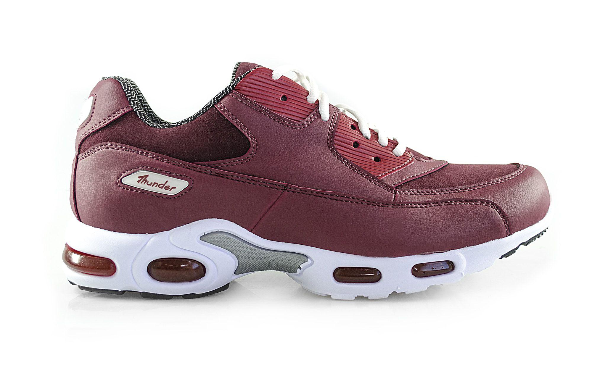 Tênis Vegano Shoes Air Damper Thunder Marsala