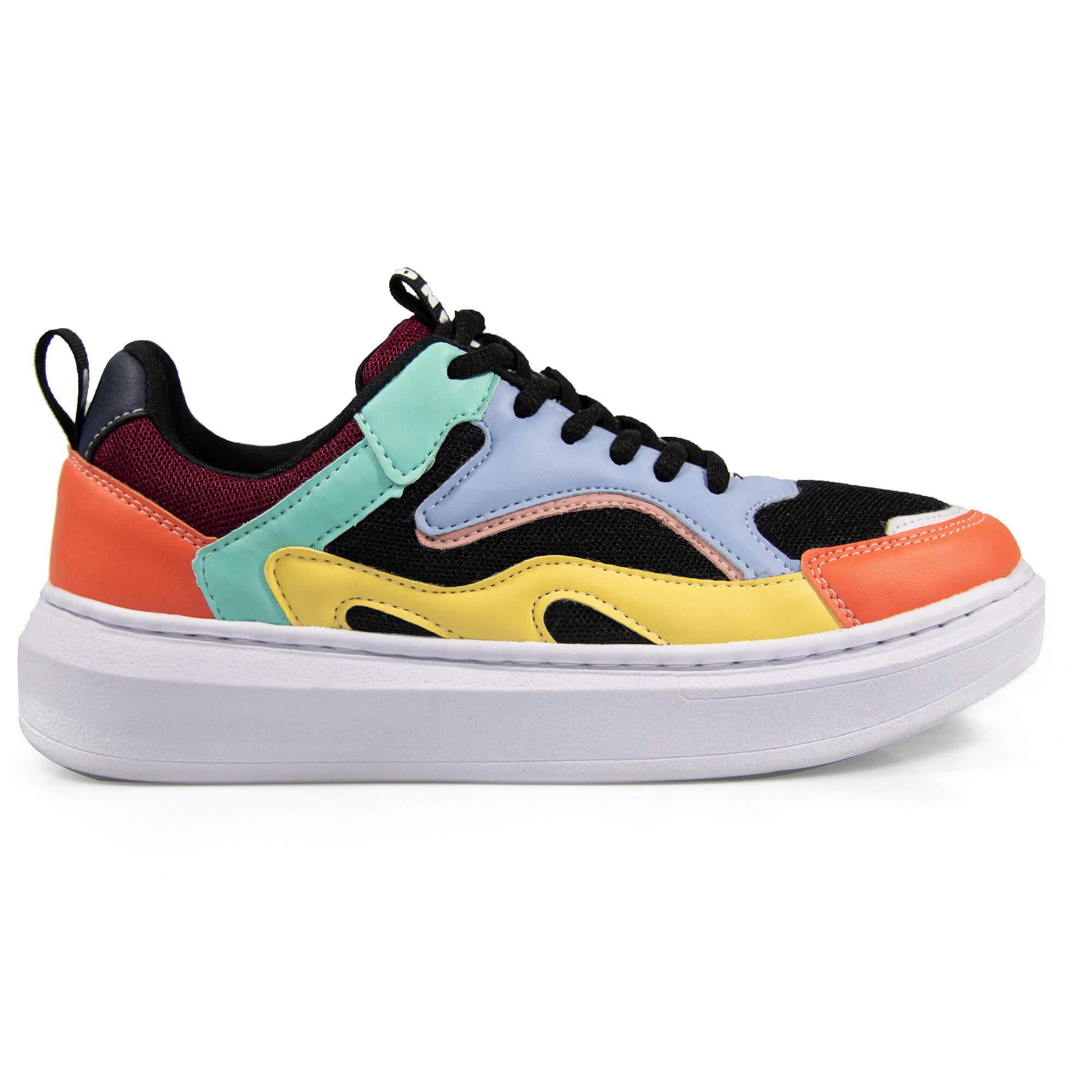 Tênis Vegano Shoes Fashion Vegan Evolution Color