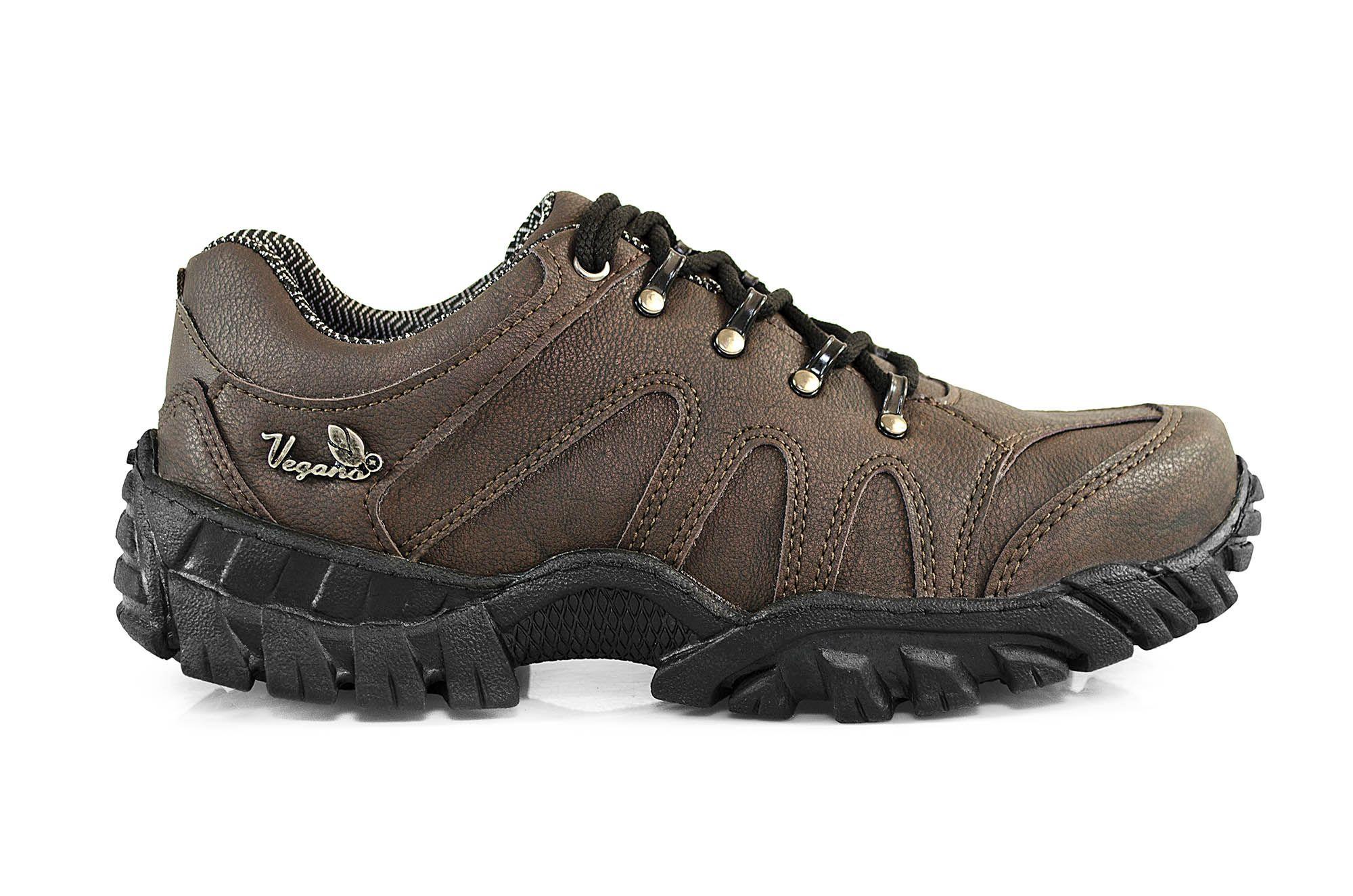 Tênis Vegano Shoes Imbuia Bistre