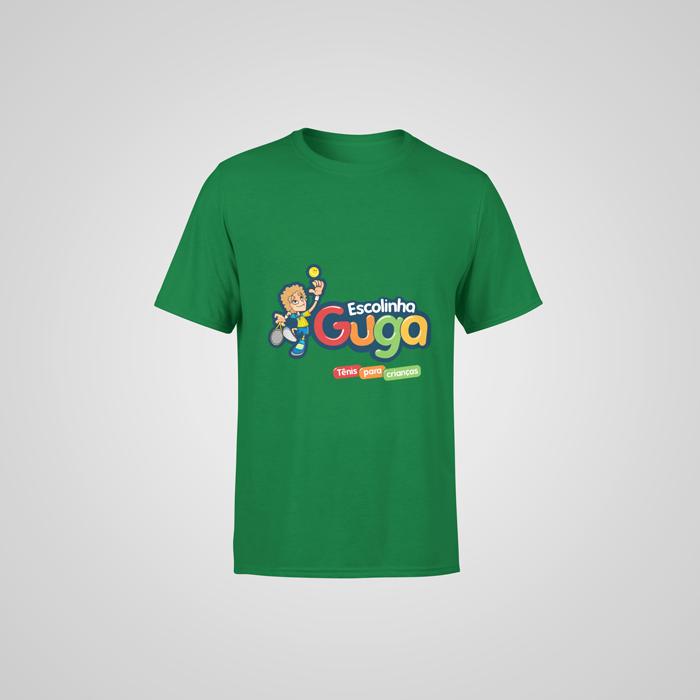 Camiseta Verde Escolinha Guga