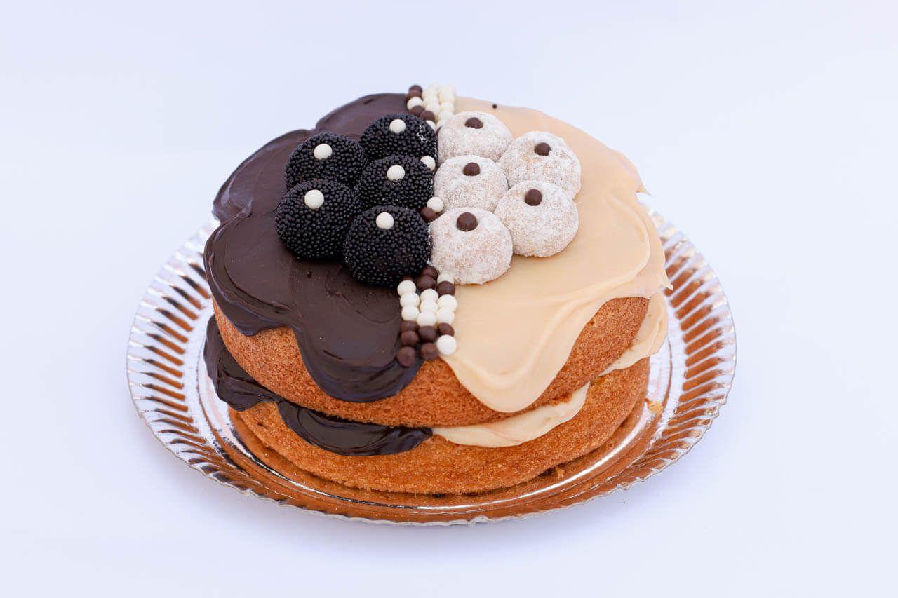 Naked Cake casadinho