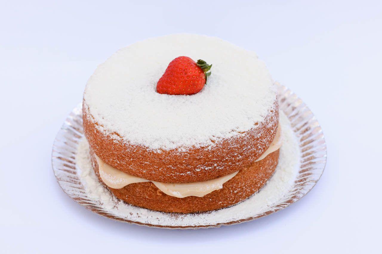 Naked Cake p/ Café Morango