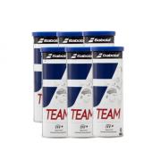 Bolas de Tênis Babolat Team - Pack com 6 tubos