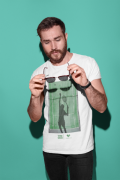 Camiseta THINK GREEN >> MASCULINA
