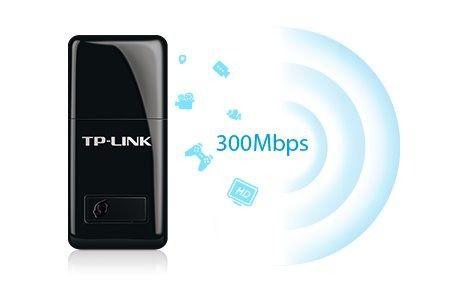 Mini Adaptador Usb Wireless 300mbps Tl-wn823n Tp-link + Nfe