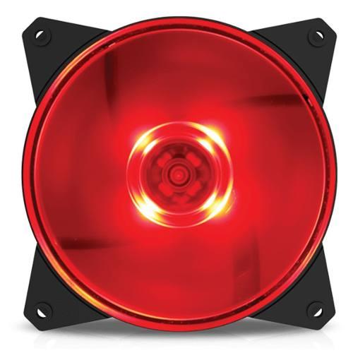 Fan P/ Gabinete Cooler Master Masterfan Mf120l Led Vermellho
