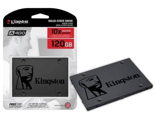 Ssd 2,5 Kingston A400 120gb Sata Iii Blister -nf-e Garantia