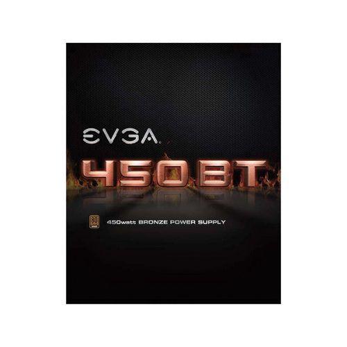 Fonte Atx 450w Bt 80 Plus Bronze Evga - 100-bt-0450-k1 + Nfe