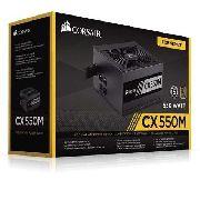 Fonte Corsair Atx Cx550m - 550w Semi-modular 80 Plus Bronze