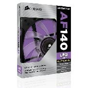 Cooler Fan P/ Gabinete Corsair Af140 Quiet Edition Led Roxo