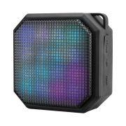 CAIXA DE SOM MINI LED SQUARE BLUETOOTH/AUX/SD 10W SP286