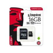 Cartão de Memória Kingston Classe 10 16GB Sim