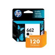 CARTUCHO DE TINTA INK ADVANTAGE HP CZ103AB HP 662 PRETO 2,0 ML