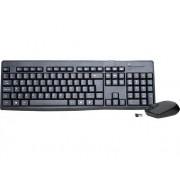 Combo teclado+mouse k-mex sem fio ka-s229 + ma-a733 preto B2KAS2290020B0X
