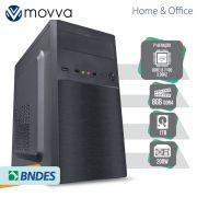 COMPUTADOR HYDRO INTEL I3 7100 3.9GHZ 7ª GERAÇÃO MEMORIA 8GB HD 1TB HDMI/VGA LINUX FONTE 200W - MVHYFI3H1101T8