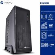 COMPUTADOR MERCURY INTEL I3 8100 3.6GHZ 8ª GER. MEM. 4GB SSD 120GB GABINETE SLIM FONTE 275W LINUX - MVMCSI3H310S1204