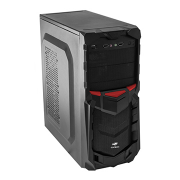 GABINETE C3TECH GAMER MT-G50 BK 3 BAIAS