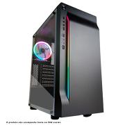GABINETE GAMER PIXXO CG01 RGB S/FONTE