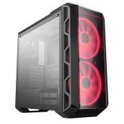 GABINETE MASTERCASE H500 - RGB - VIDRO - MCM-H500-IGNN-S00