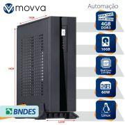 MINI COMPUTADOR LITE INTEL DUAL CORE J1800 2.41GHZ MEMÓRIA 4GB SSD 16GB HDMI/VGA FONTE EXTERNA 60W LINUX