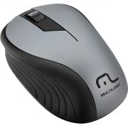 MOUSE SEM FIO 2.4GHZ PRETO GRAFITE USB 1200DPI PLUG AND PLAY MO213