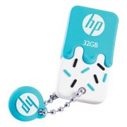 PEN DRIVE MINI HP USB 2.0 V178B 32GB AZUL HPFD178B-32
