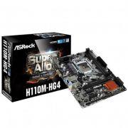 PLACA MAE 1151 H110 H110M-HG4 DDR4 ASROCK