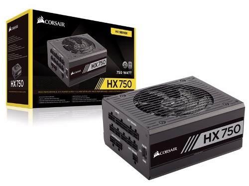 Fonte Atx Hx750 750w Full-modular 80plus Platinum - Corsair