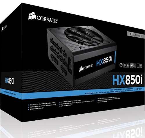 Fonte Atx Hx850i 850w Full-modular 80plus Platinum - Corsair
