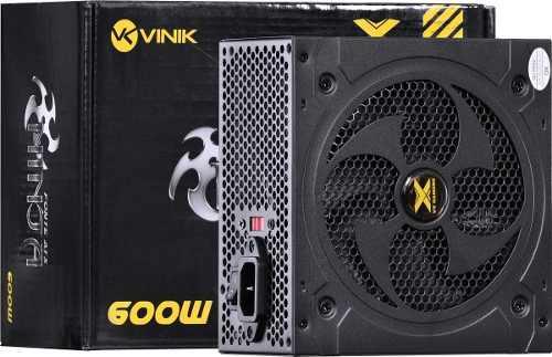 Fonte Atx Vx Ninja 600w - Vinik