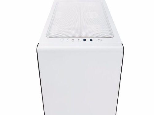Gabinete Carbide Series 400c Acrilico Branco - Corsair + Nfe