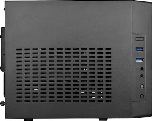Gabinete Cooler Master Cubo Mini-itx Elite 110 Mini Preto