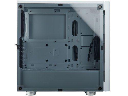 Gabinete Corsair Carbide Series 275r Branco Lateral Acrílico
