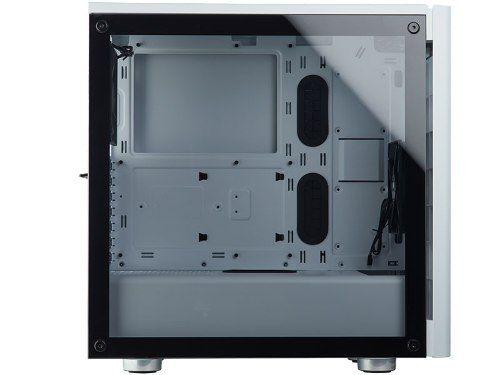 Gabinete Corsair Carbide Series 275r Branco Vidro Temperado