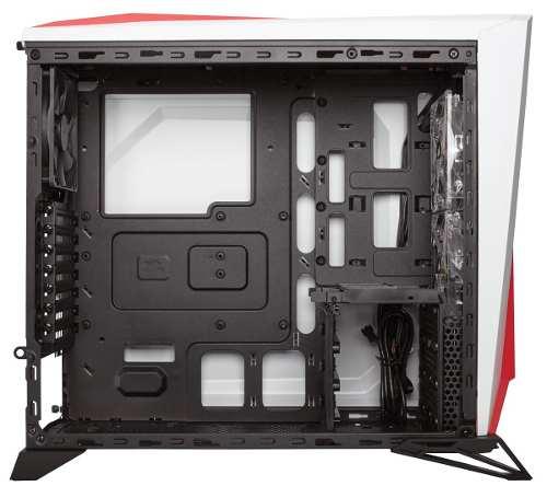 Gabinete Corsair Carbide Series Spec Alpha Branco/vermelho