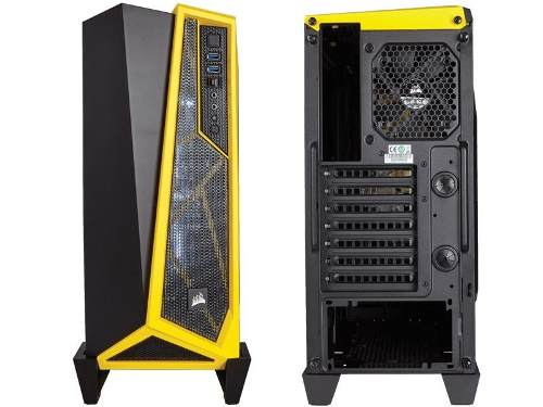 Gabinete Corsair Carbide Series Spec Alpha Preto/amarelo