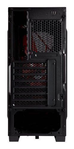 Gabinete Corsair Carbide Series Spec-04 Preto/vermelho