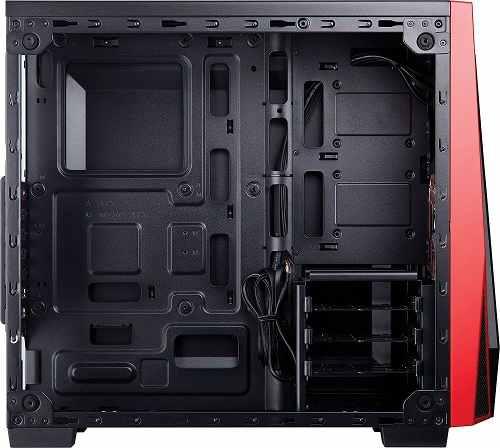 Gabinete Corsair Carbide Series Spec-04 Pto/verm Vidro Temp