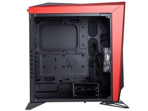 Gabinete Corsair Carbide Series Spec-omega Preto/vermelho