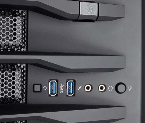 Gabinete Cubo Gaming Carbide Series Air 740 - Corsair + Nfe