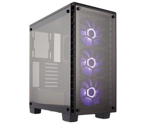 Gabinete Mid Tower Gaming Crystal 460x Rgb - Corsair - Nfe