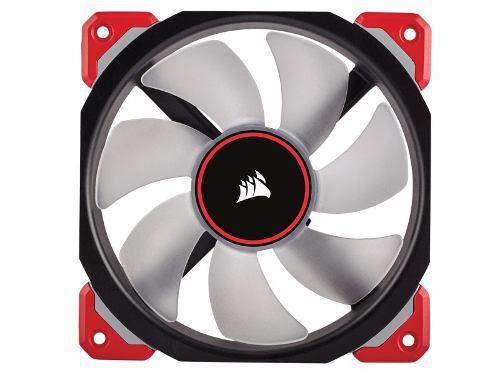 Cooler Fan P/ Gabinete Corsair Ml120 Pro 120mm Led Vermelho