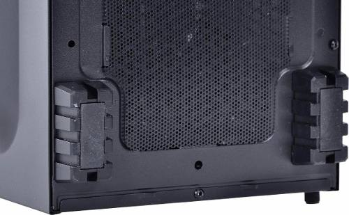 Gabinete Mid-tower Chacal Led Rosa Lateral Em Acrílico Pcyes
