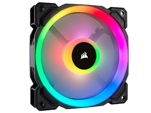 Cooler Fan P/ Gabinete Corsair Pwm Ll120 Rgb Dual Light Loop