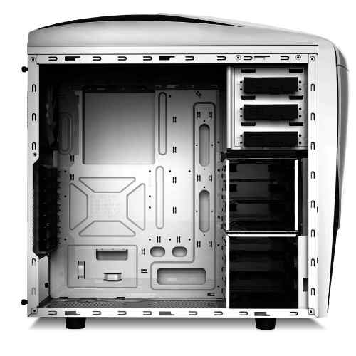 Gabinete Mid-tower Nzxt Phantom 240 Branco Lateral Acrílico